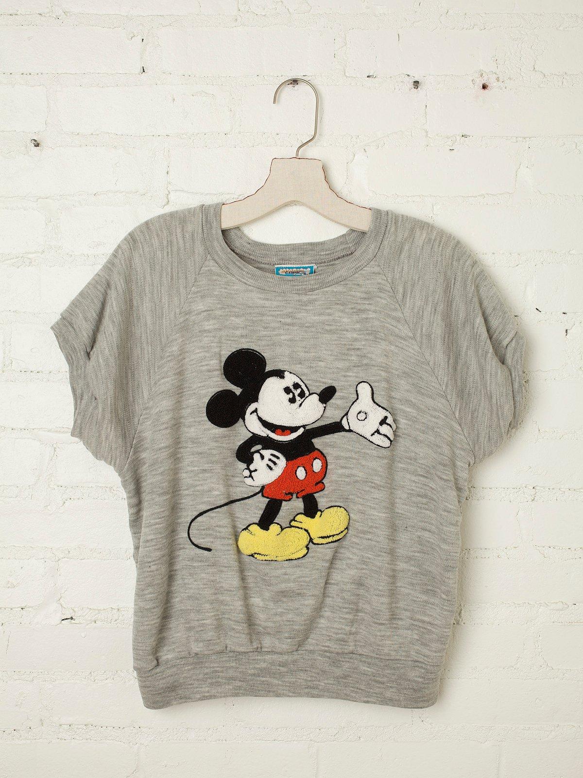 Vintage Mickey Mouse Sweatshirt Tee