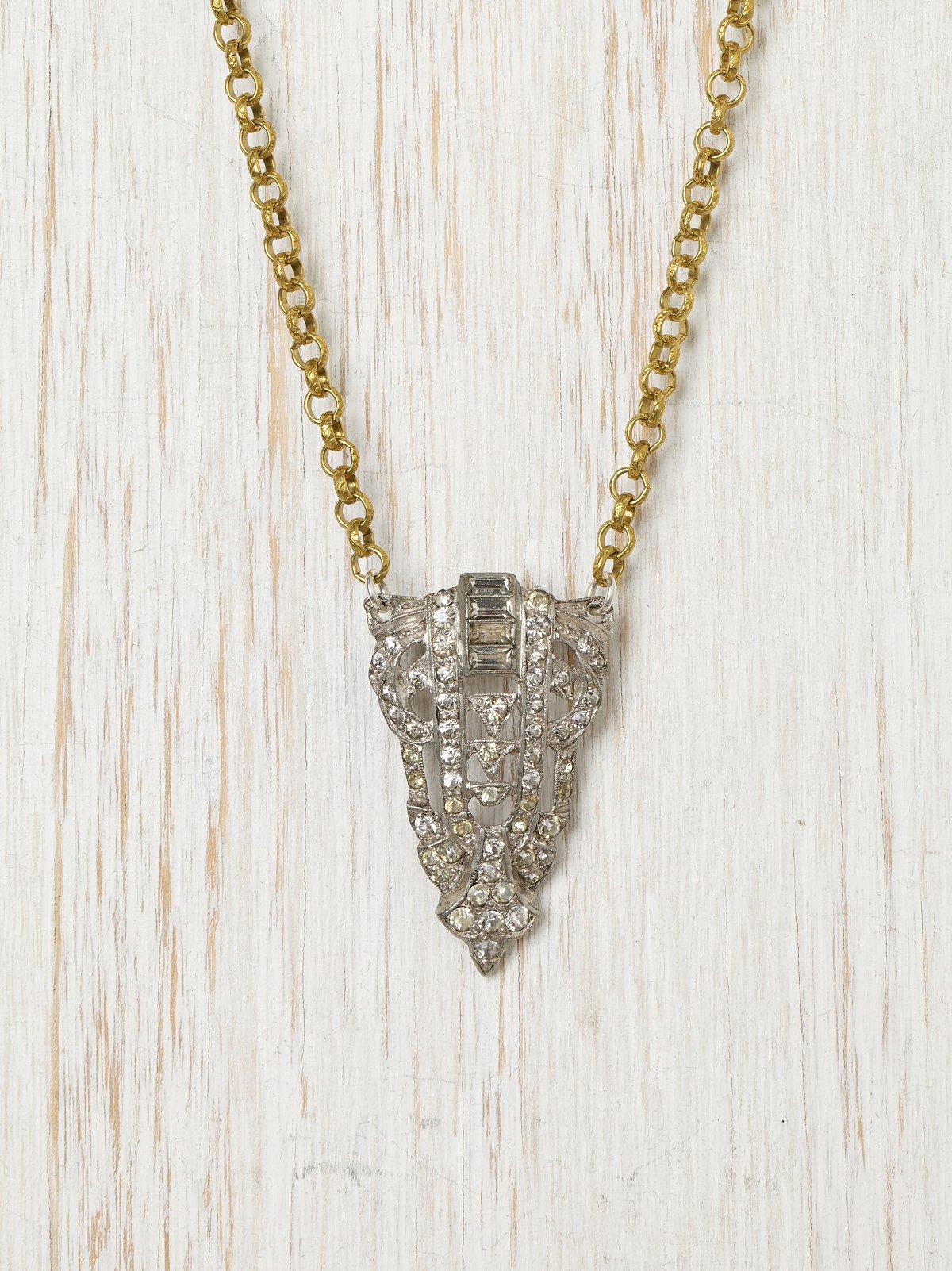 Vintage Deco Necklace