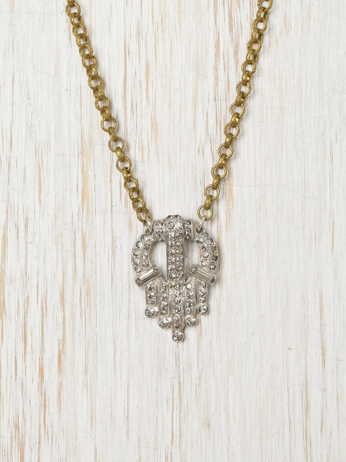 Vintage Crest Necklace