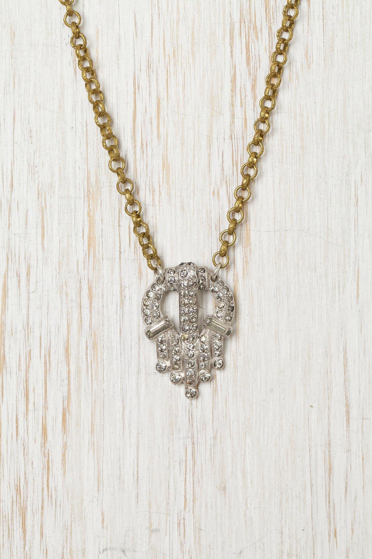 Vintage Crest Necklace