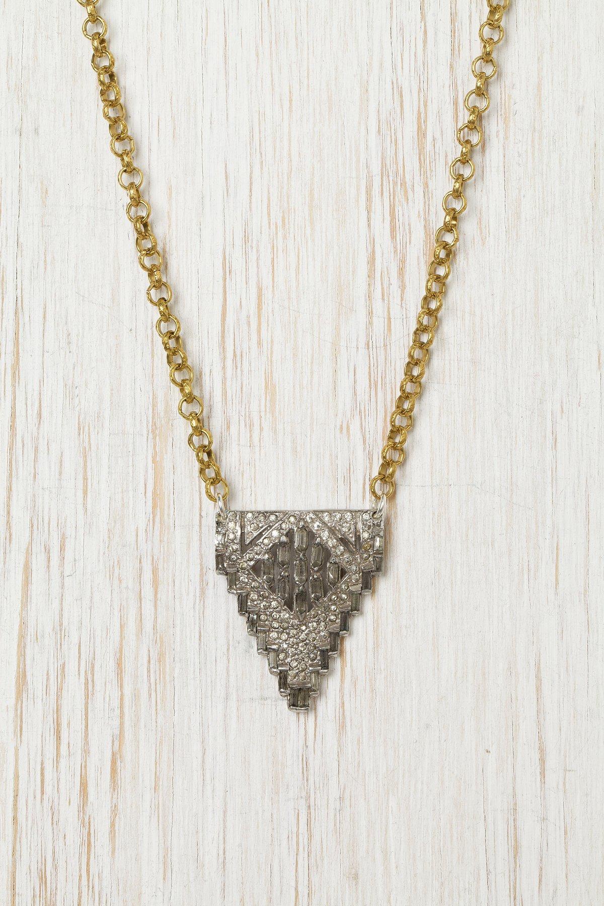 Vintage Arch Necklace