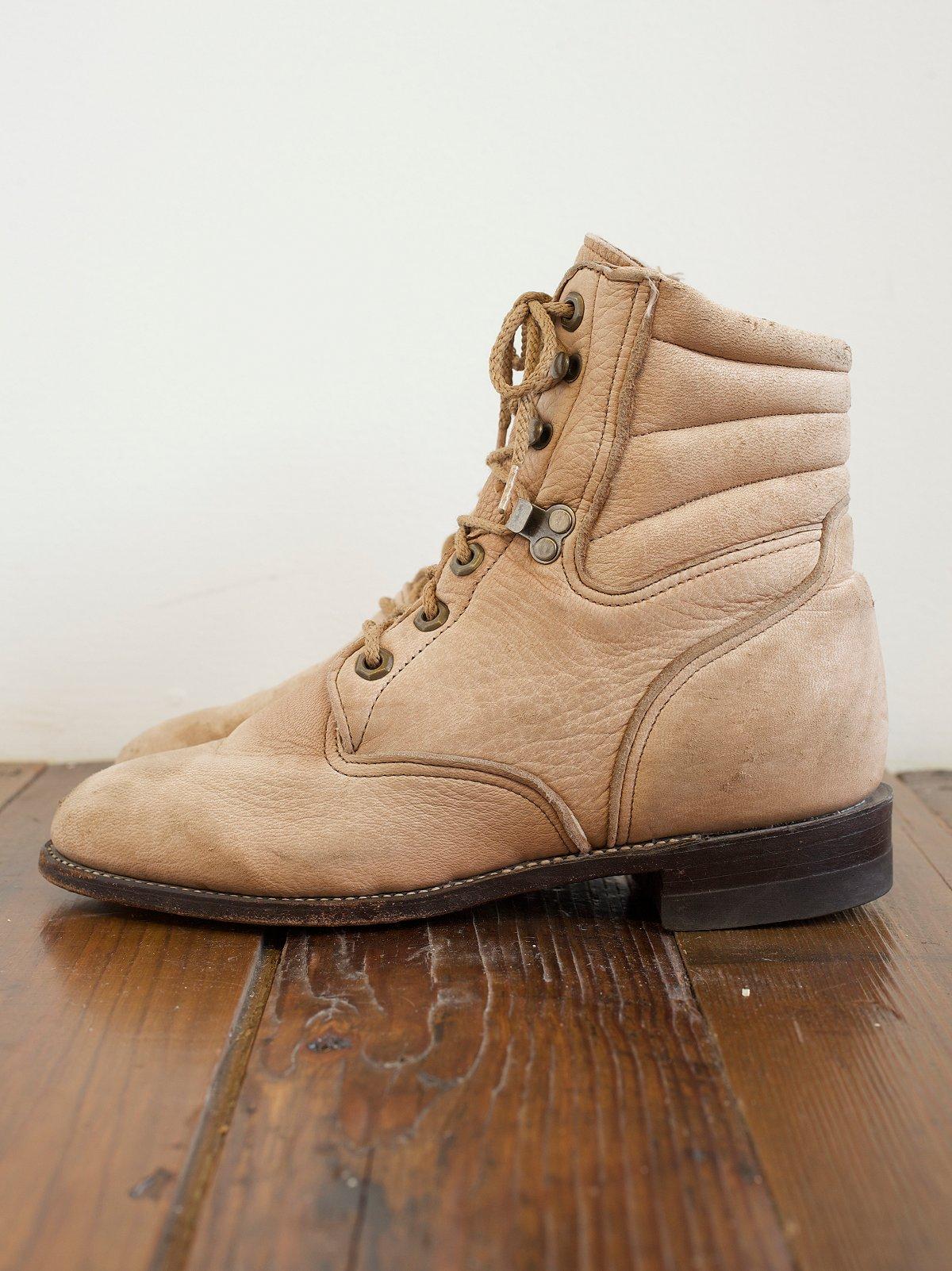 Vintage Hiking Boot