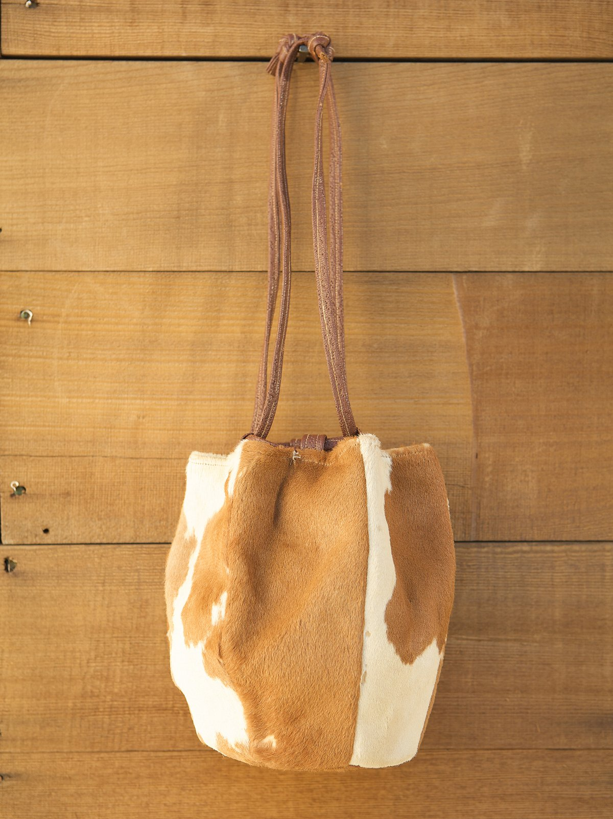 Vintage Ponyskin Bucket Bag