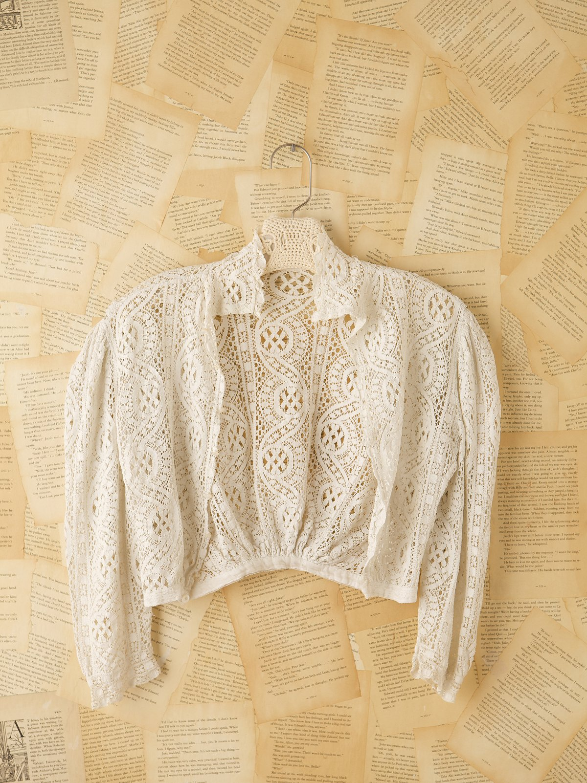 Vintage Victorian Long Sleeve Top