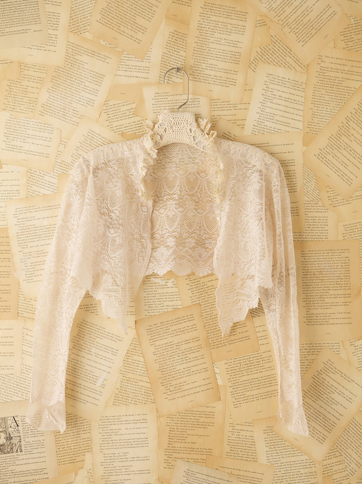 Vintage Victorian Long Sleeve Shrug