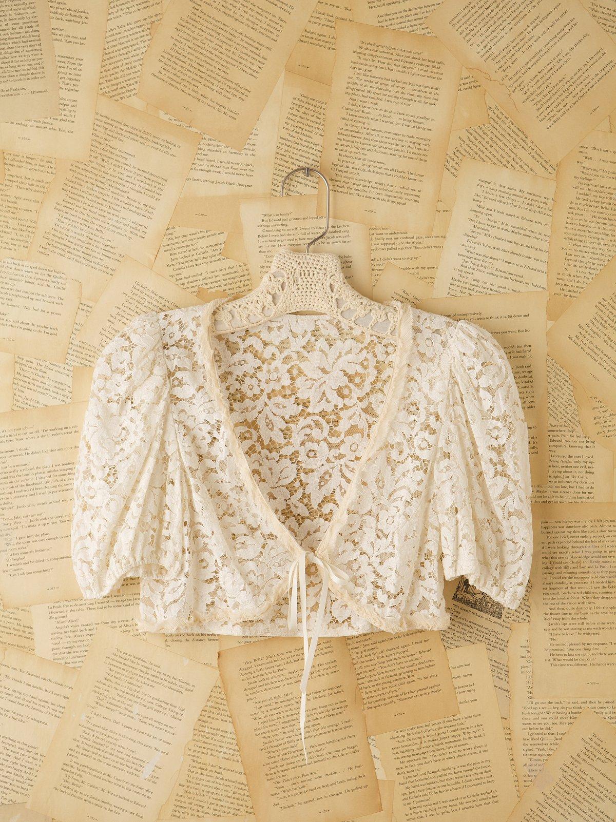 Vintage 1930s Lace Shrug