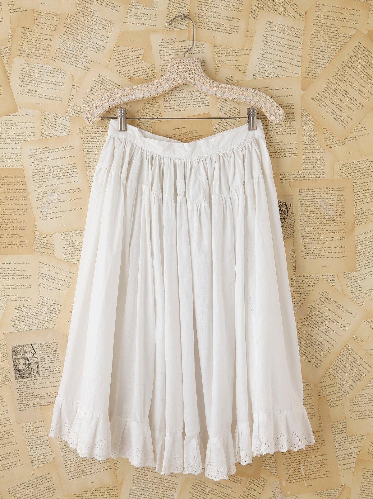 Vintage Victorian Petticoat