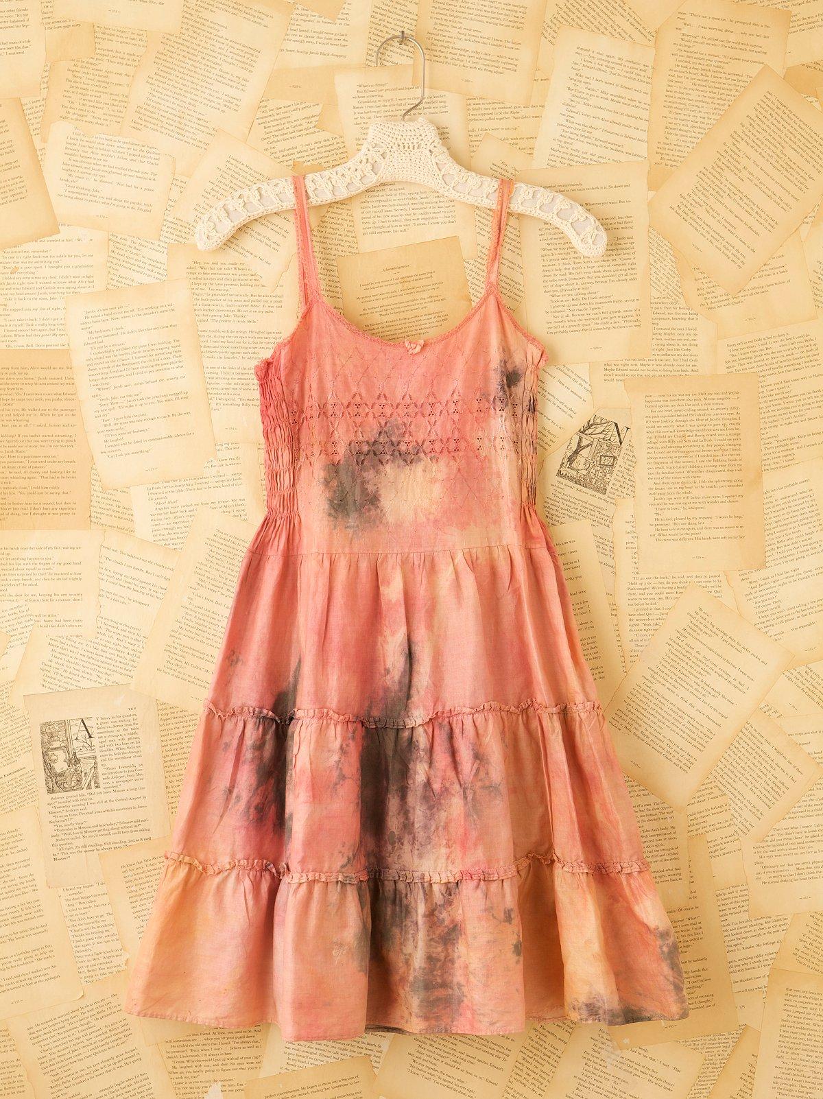 Vintage Hand Dyed Slip Dress