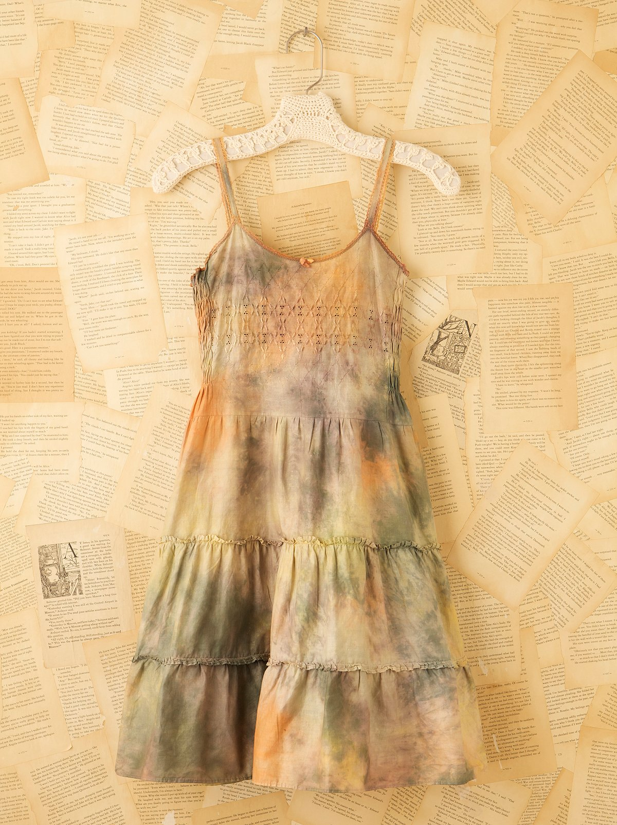 Vintage Hand Dyed Slip Dress