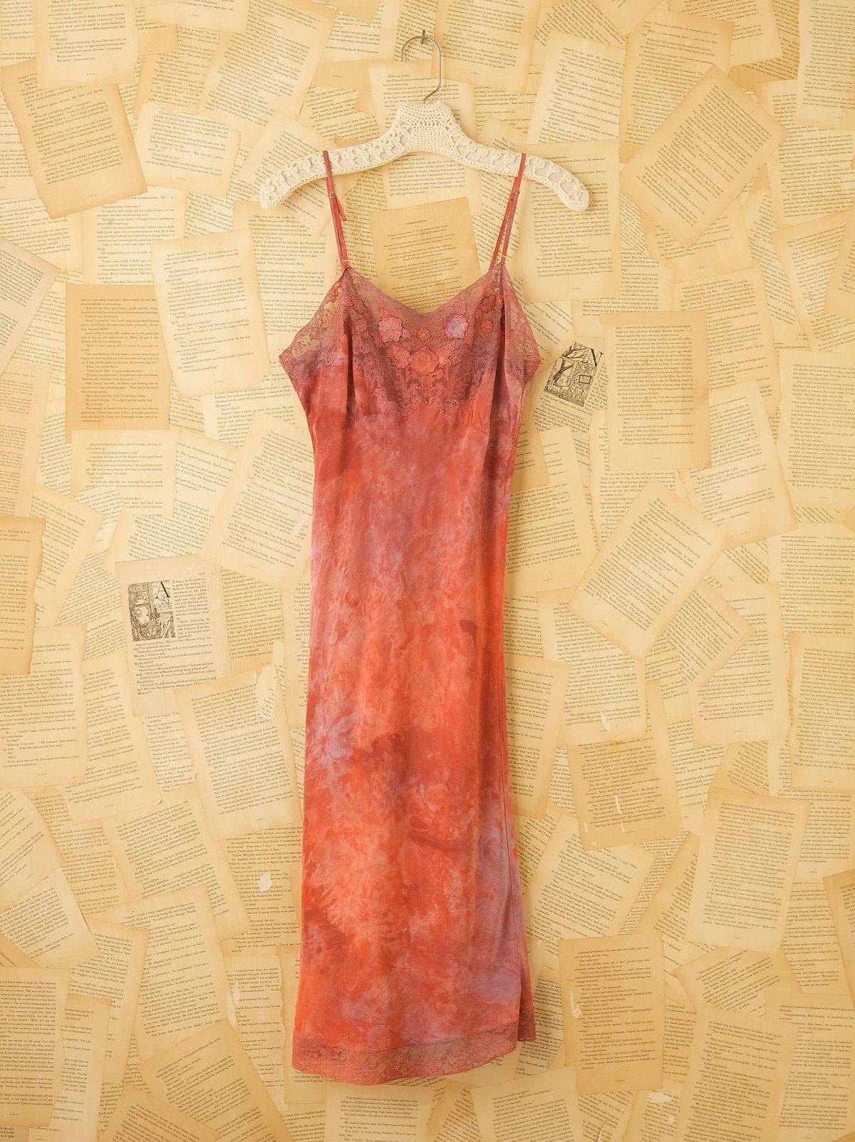 Vintage Tie Dye Slip Dress