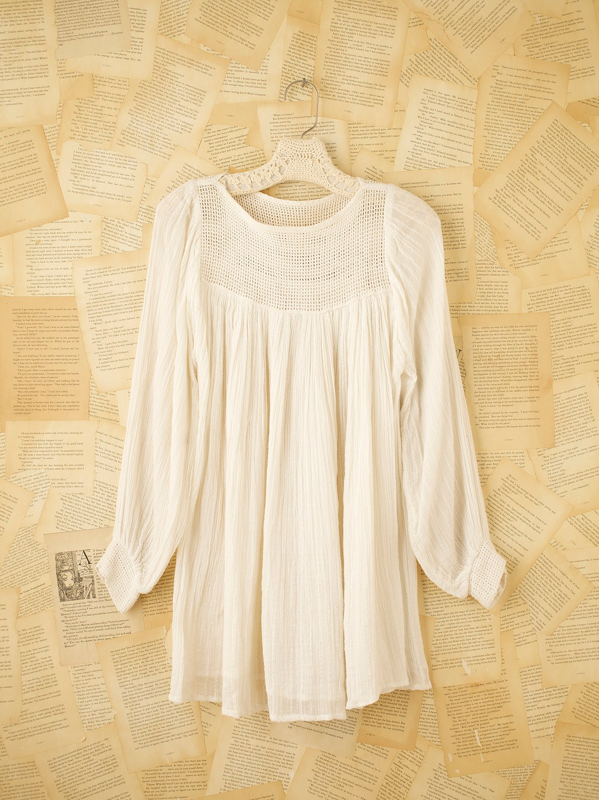 Vintage White Gauze Dress