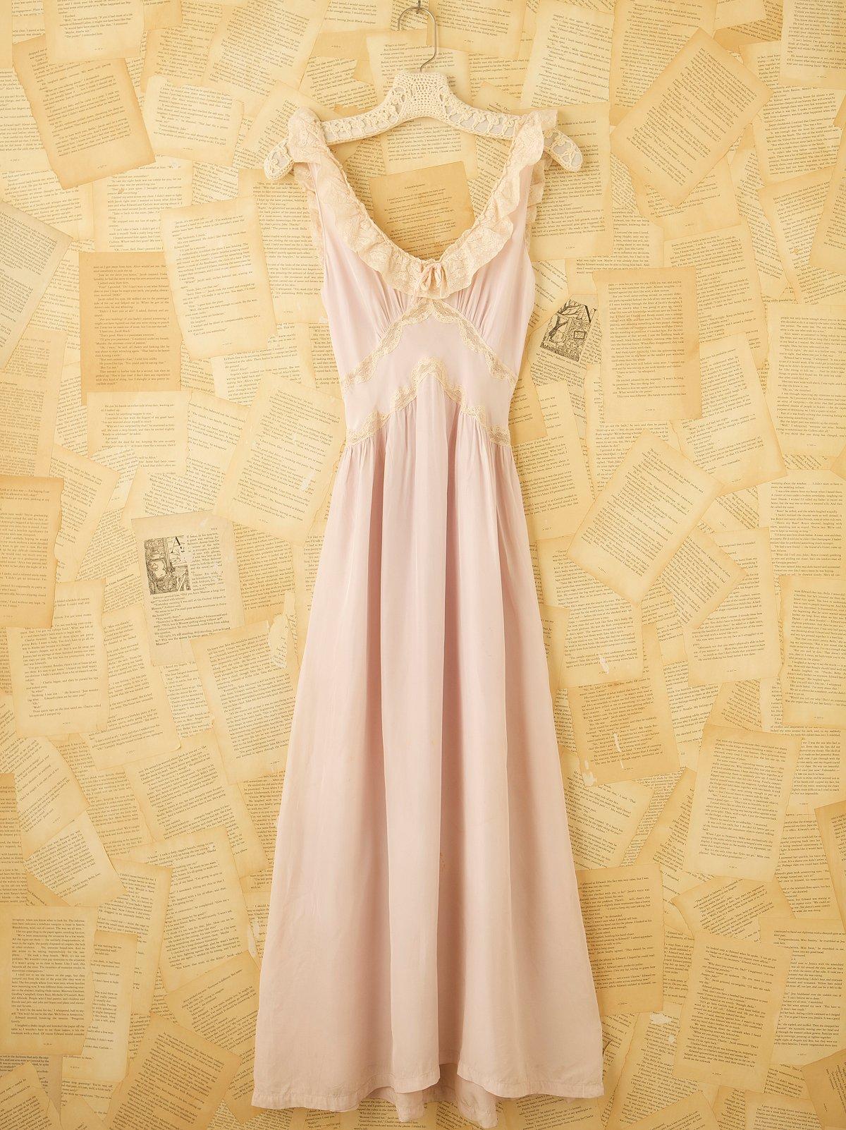 Vintage Slip Gown