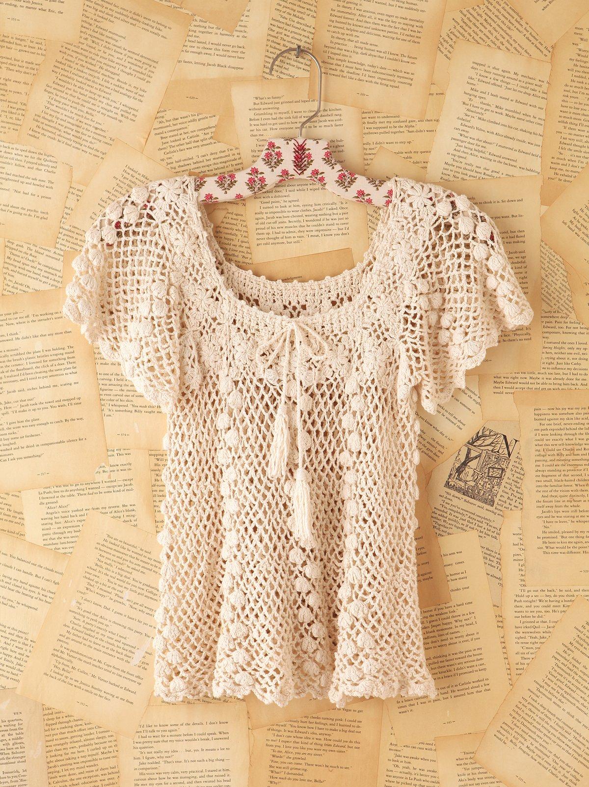 Vintage Crochet Shirt