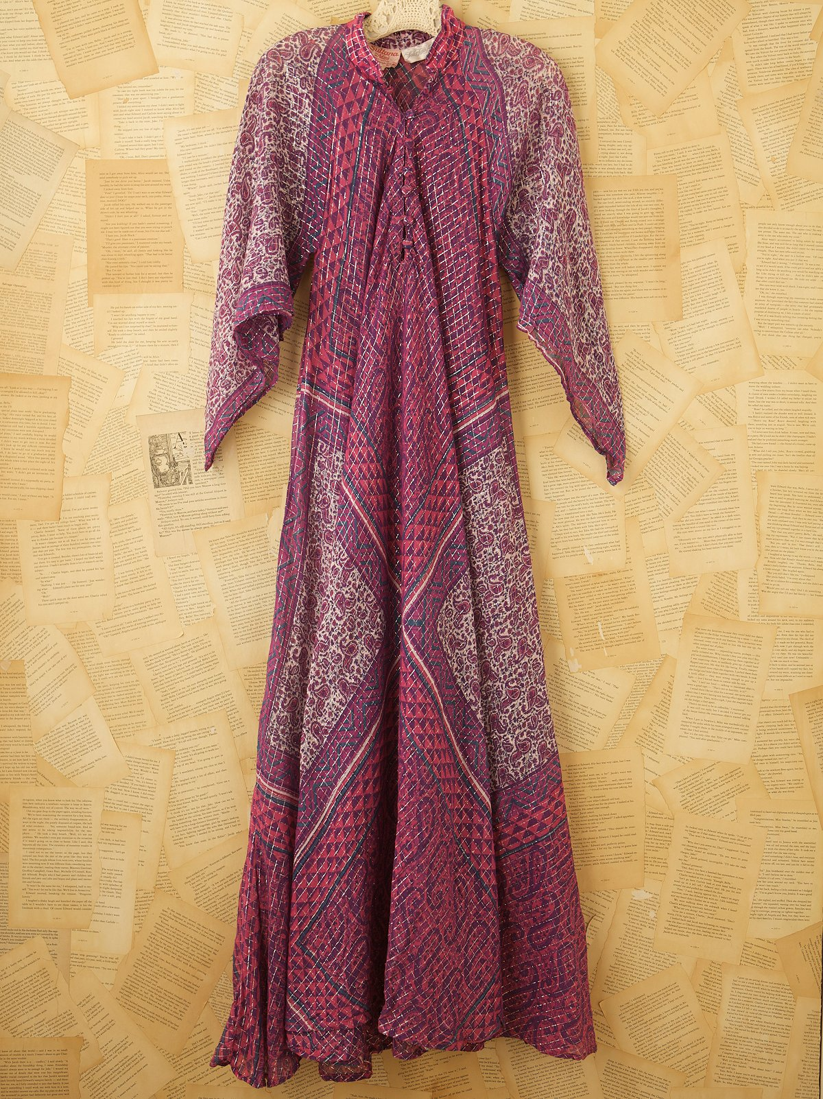 Vintage Indian Gauze Dress