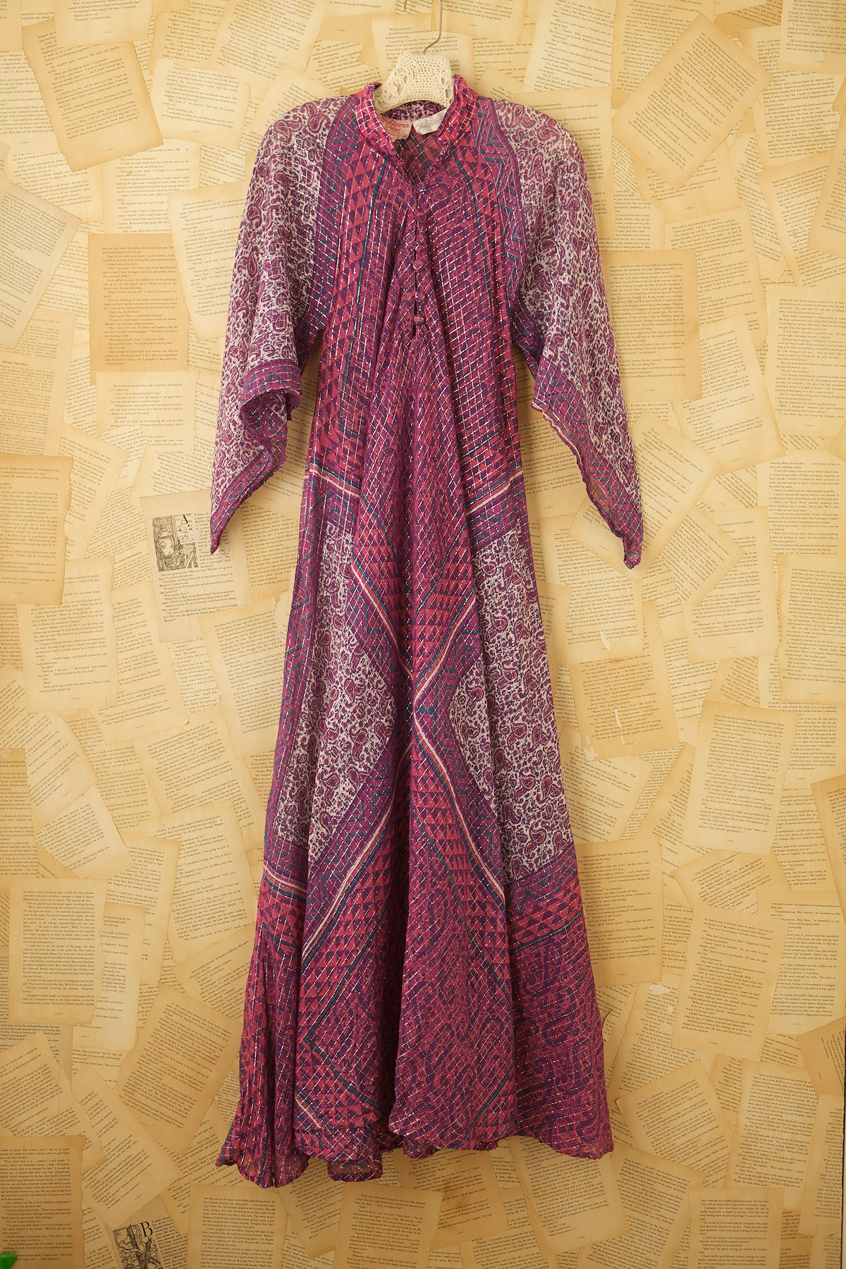 Vintage Indian Gauze Dress