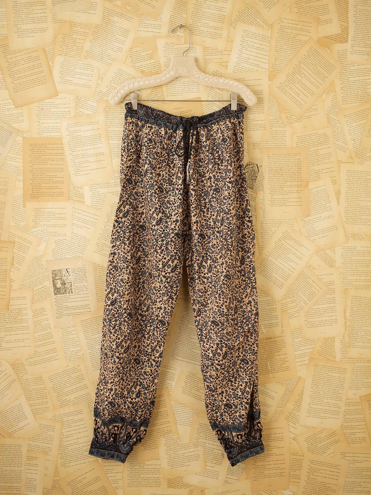 Vintage Gauze Harem Pants