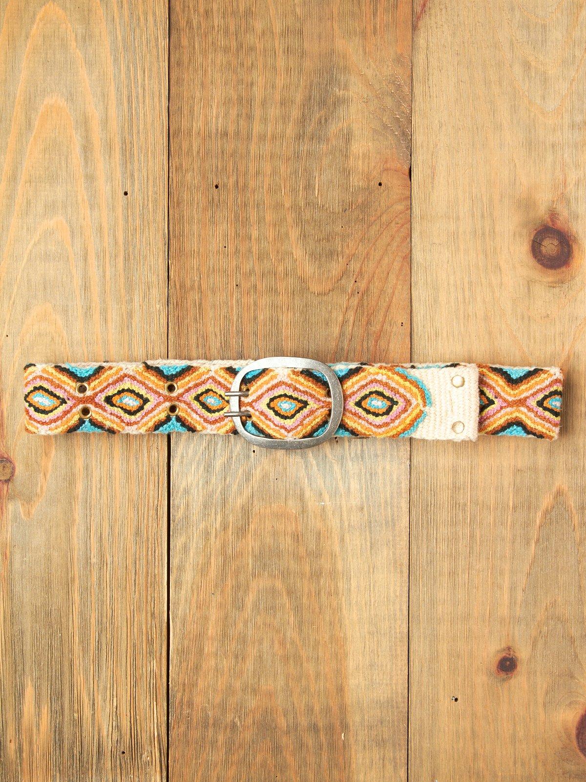 Peruvian Pattern Belt