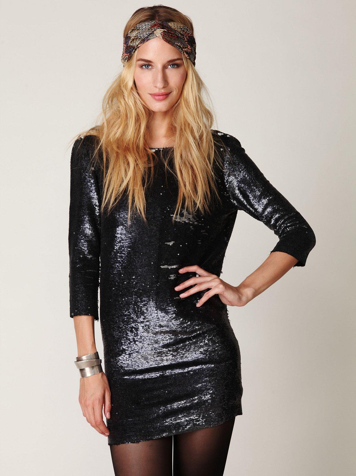Blackheart Sequin Dress