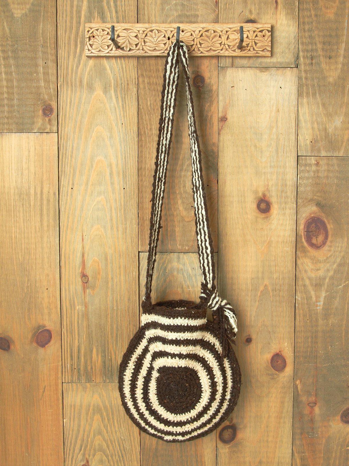 Wool Moon Shoulder Bag