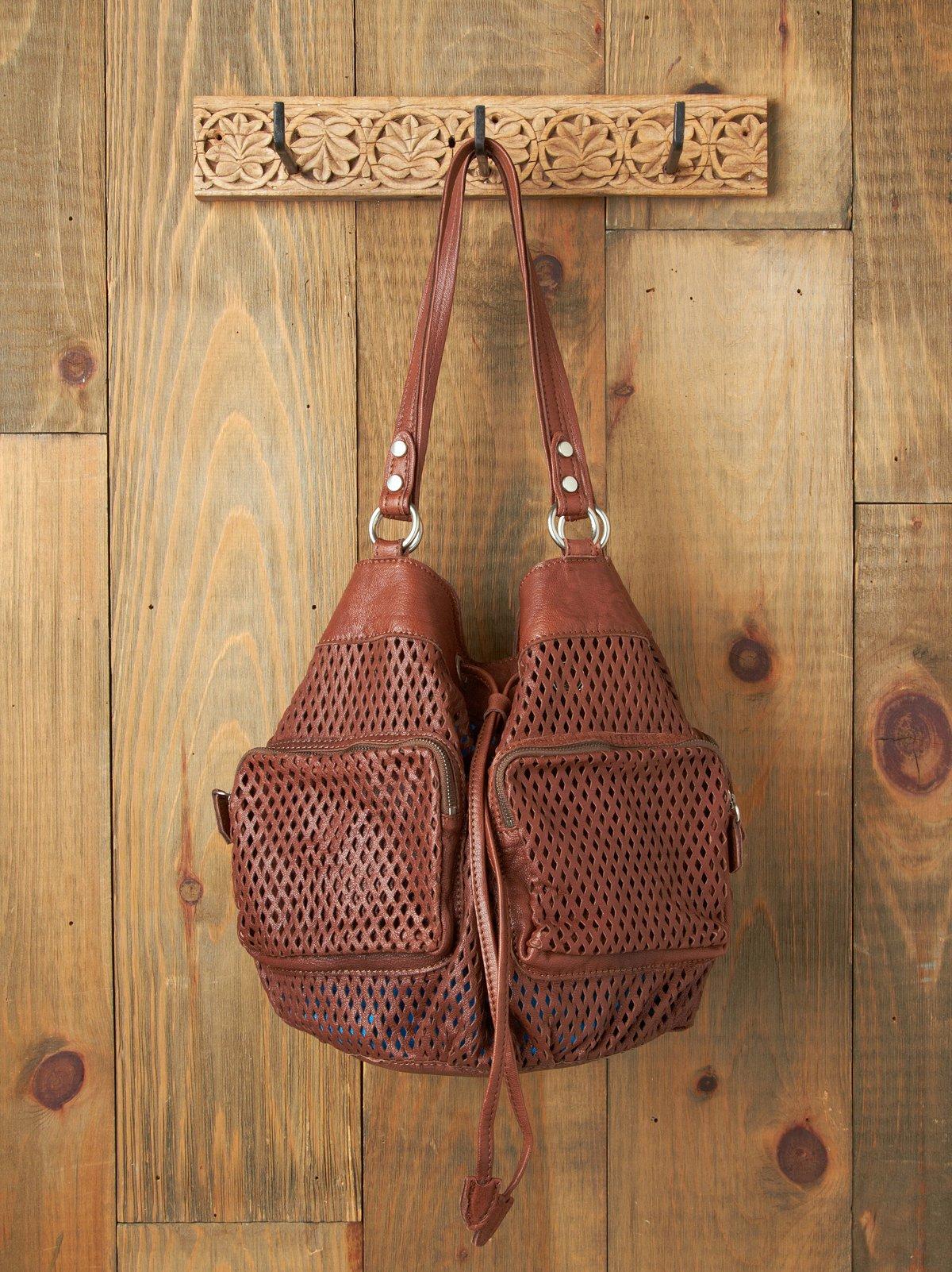 Bravura Leather Perf Bag