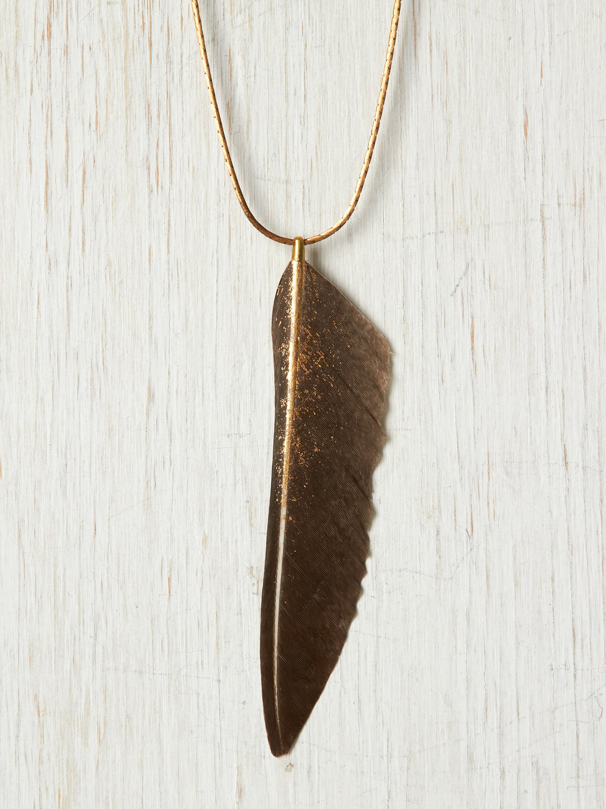 Golden Wing Necklace