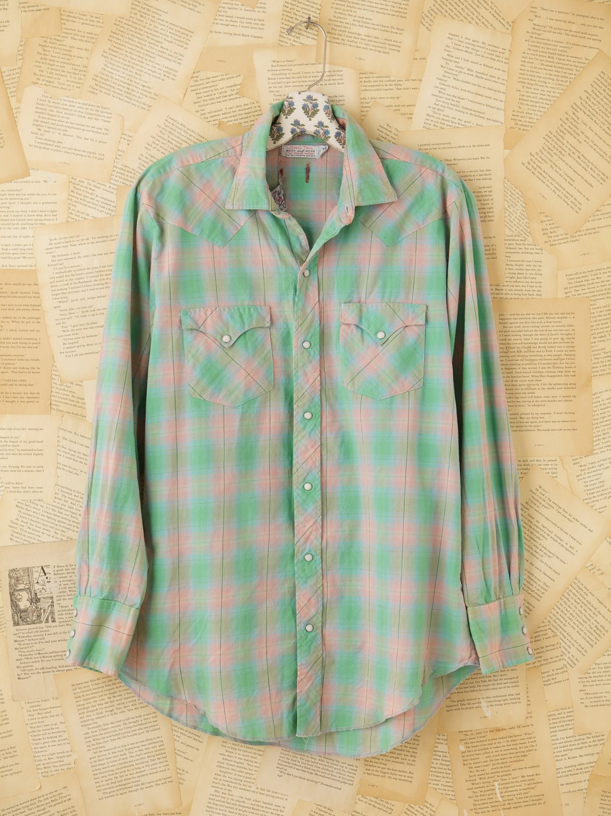 Vintage Plaid Buttondown Shirt