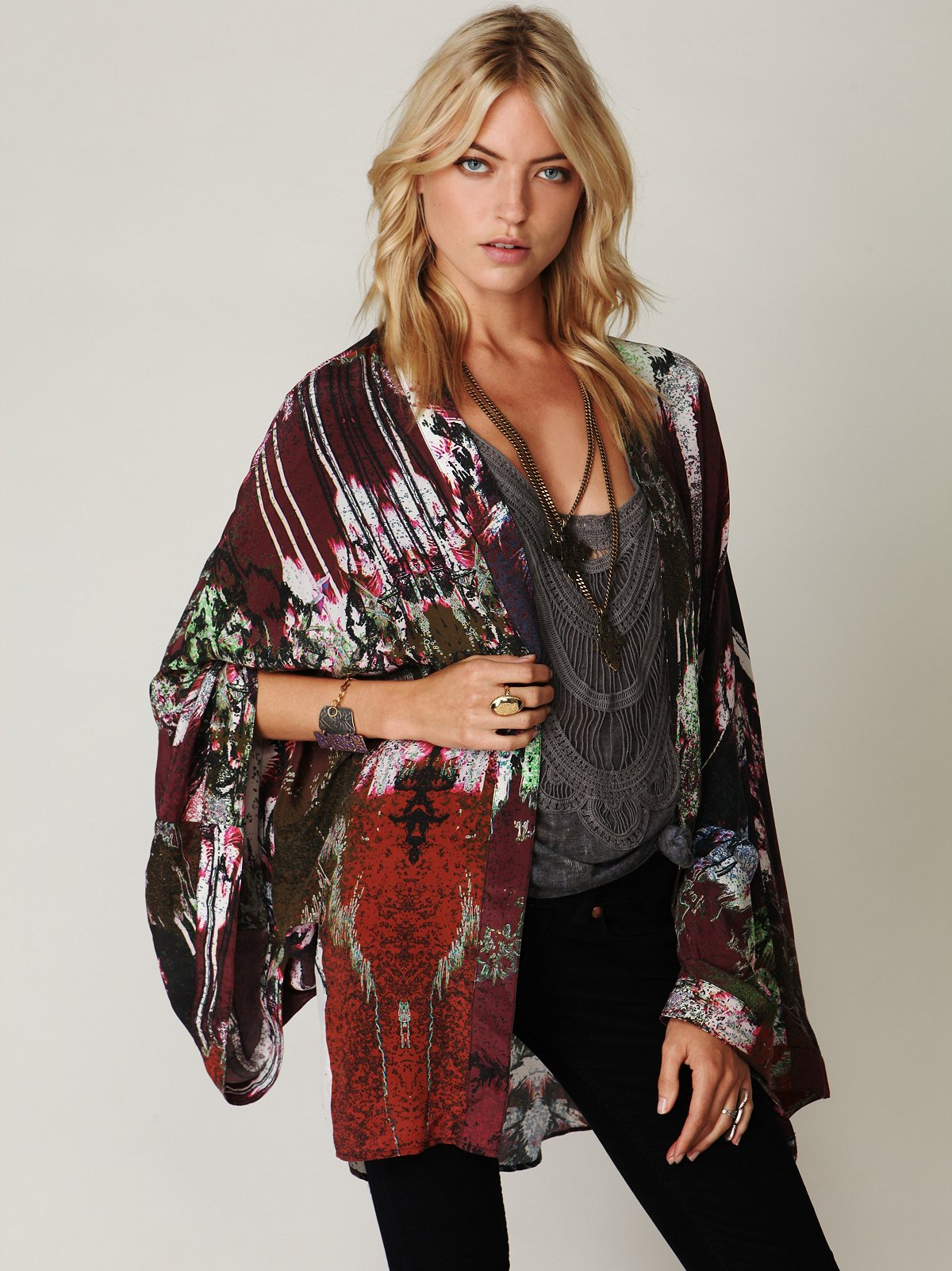 Arizona Silk Kimono