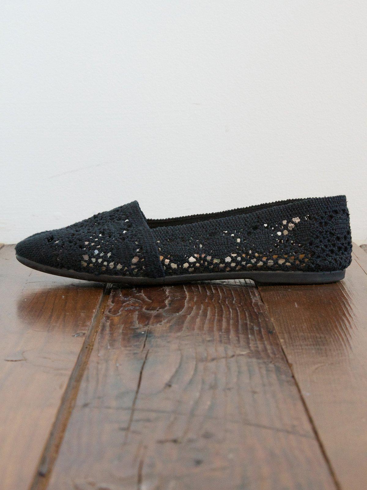 Vintage Crochet Shoes