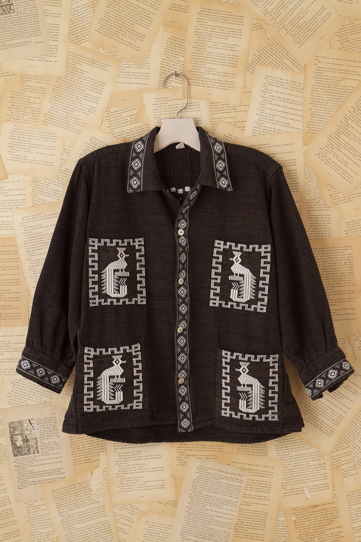 Fpv-emb. Aztec Jacket