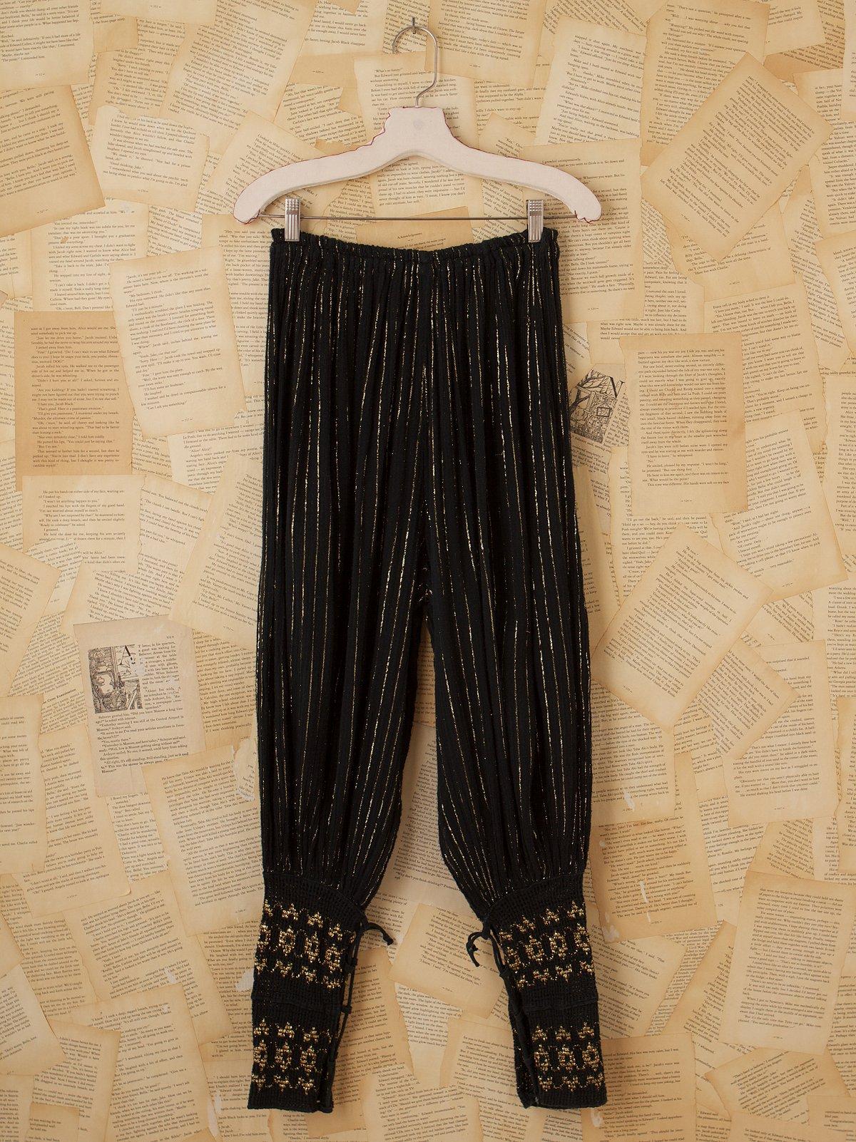 Vintage Greek Harem Pants