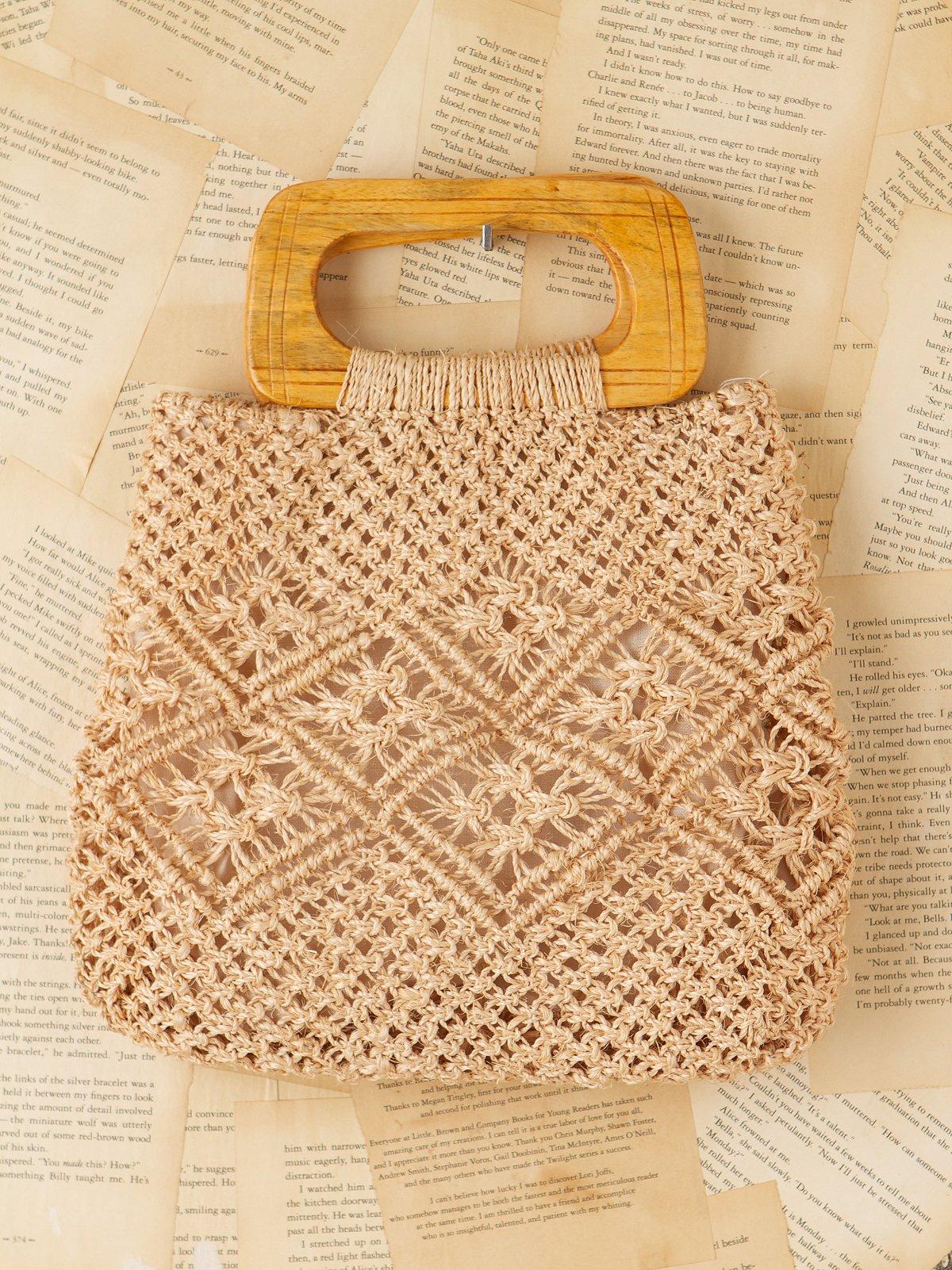 Vintage Knit Bag