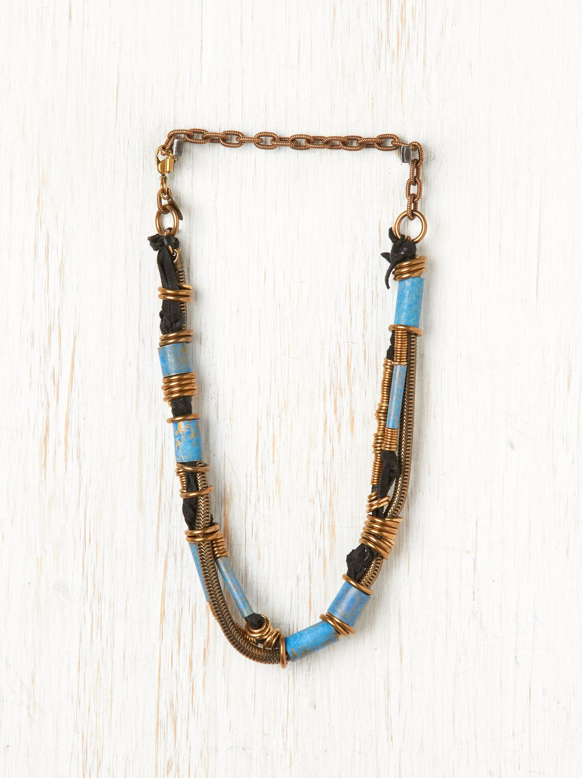 Black Cyanea Necklace