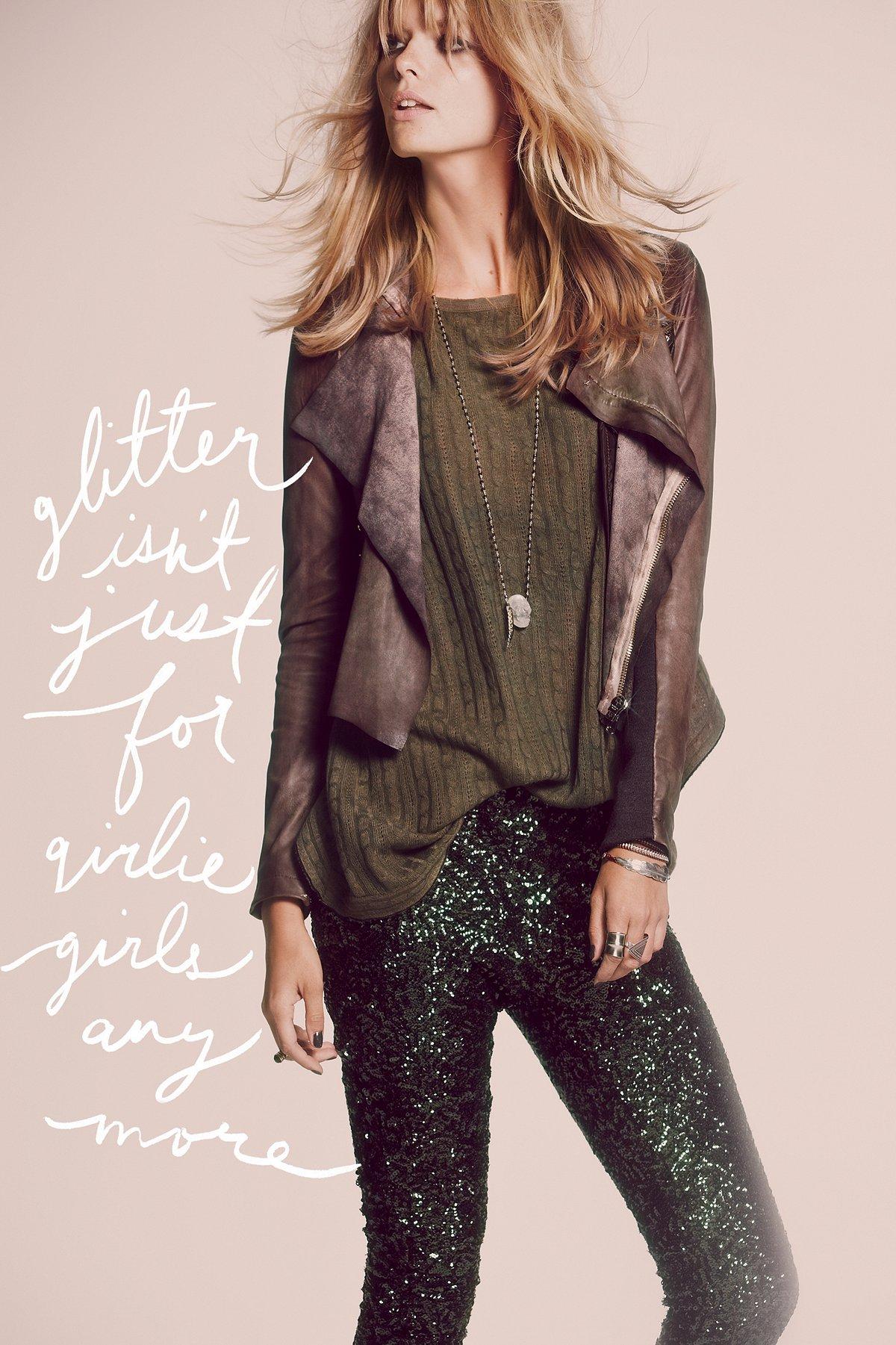Blur Ria Leather Jacket