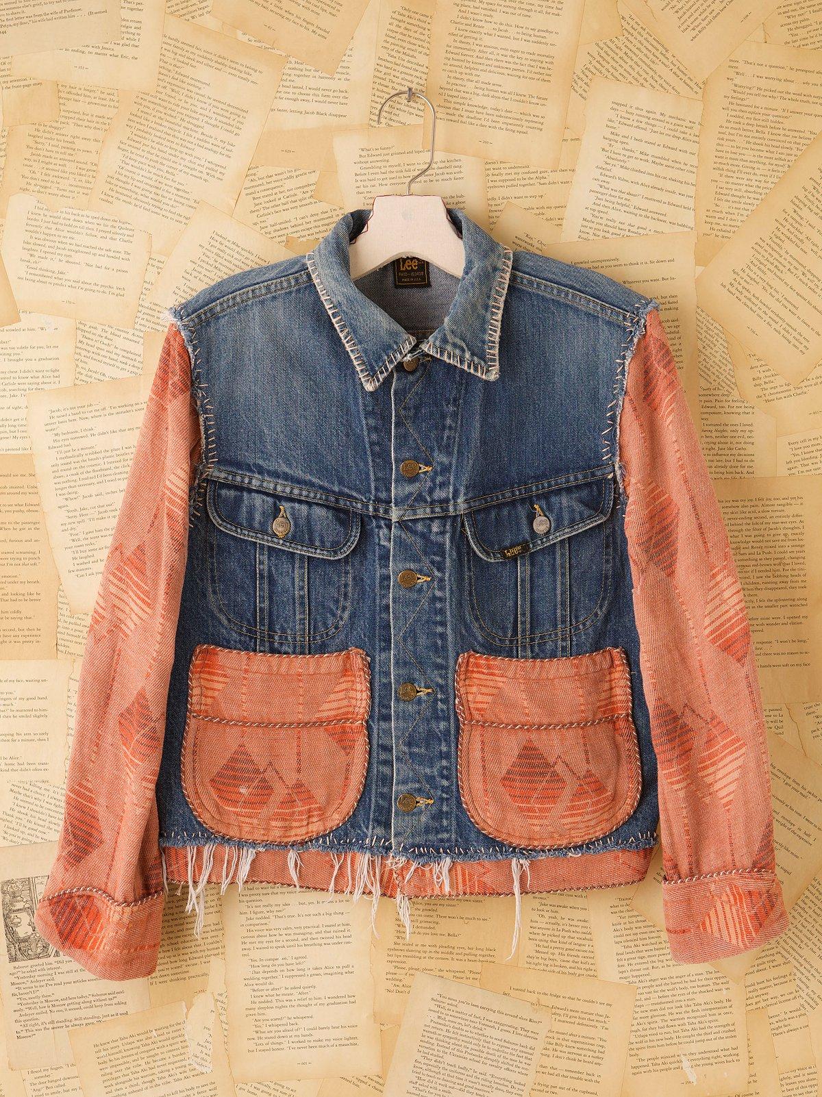 Vintage Lee Beacon Blanket Jacket