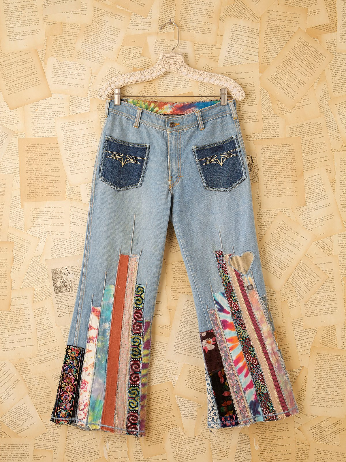 Vintage Strawberry Fields Britannia Jeans