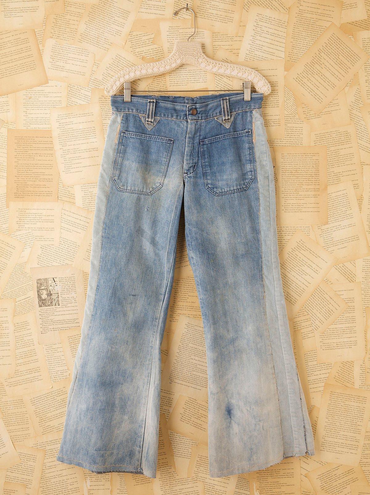 Vintage Water Wash Jeans