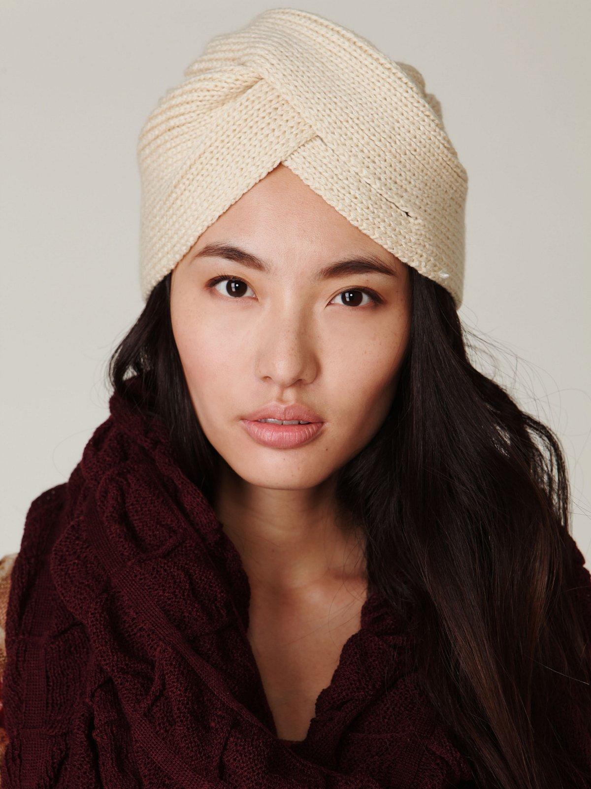 Knitted Turban Beanie