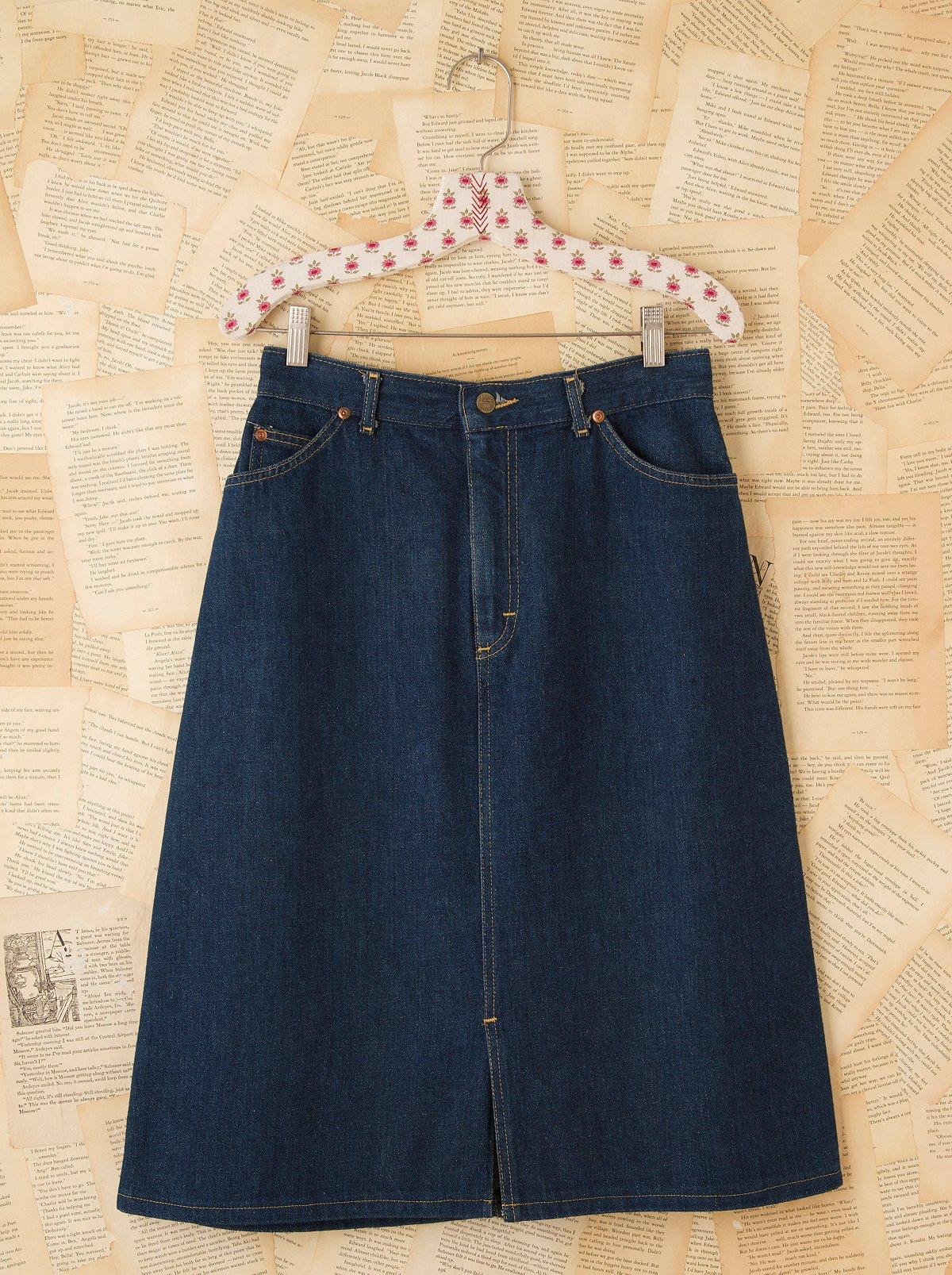 Vintage Lee Riders Denim Skirt