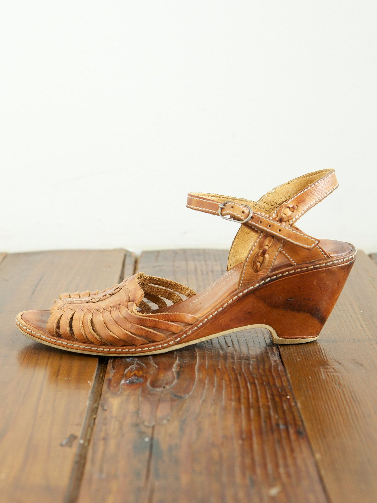 Vintage Huarache Heels