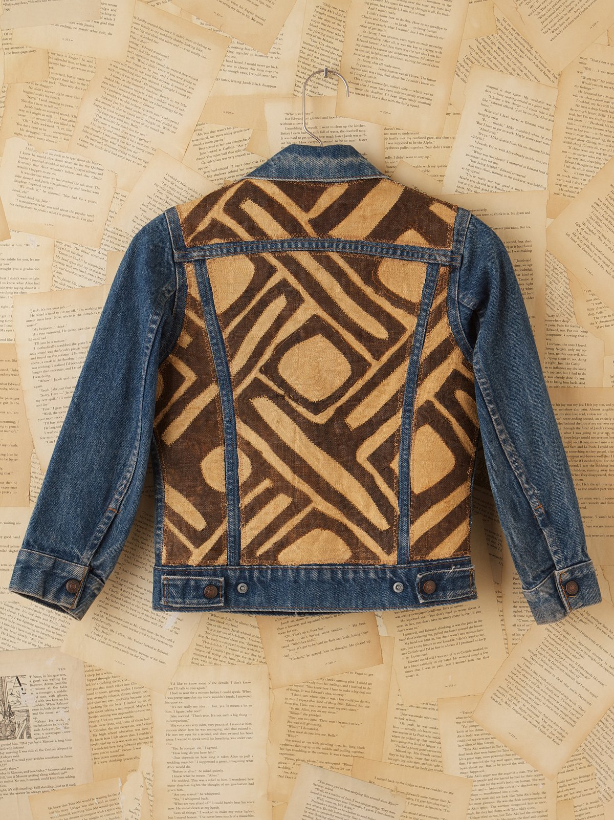 Vintage African Kuba Cloth Jacket