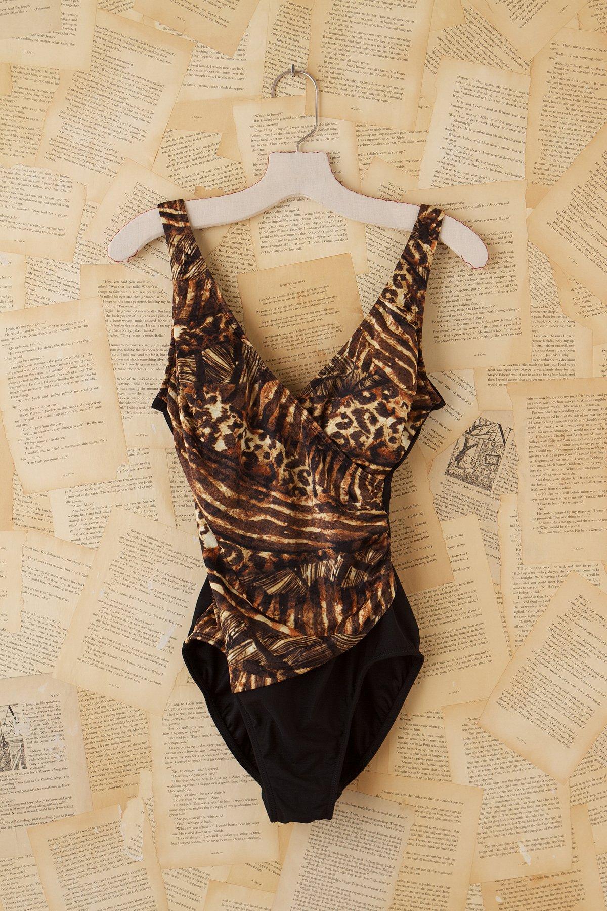 Vintage 1980s Bathing Suit