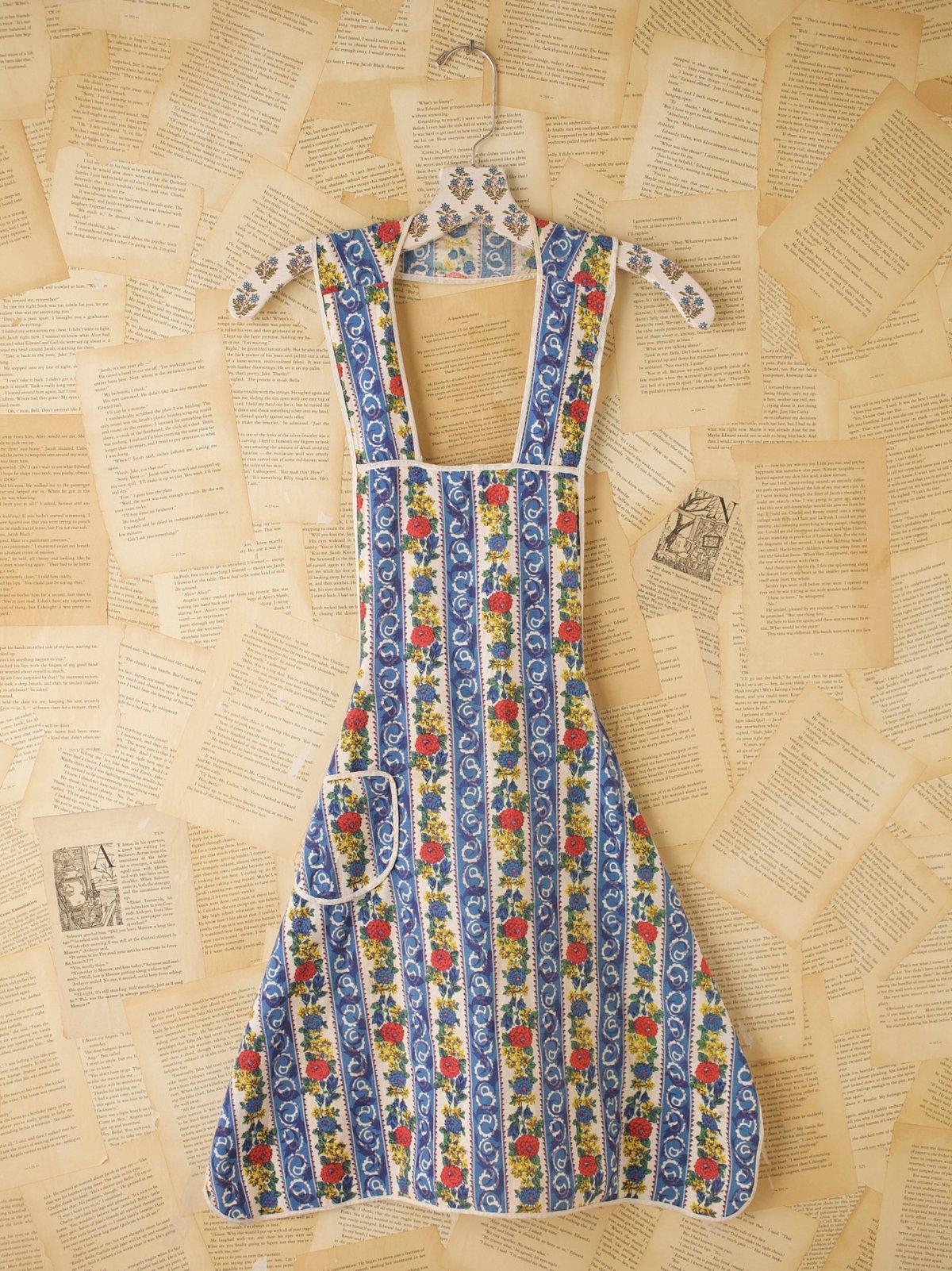 Vintage Kitchen Apron Dress