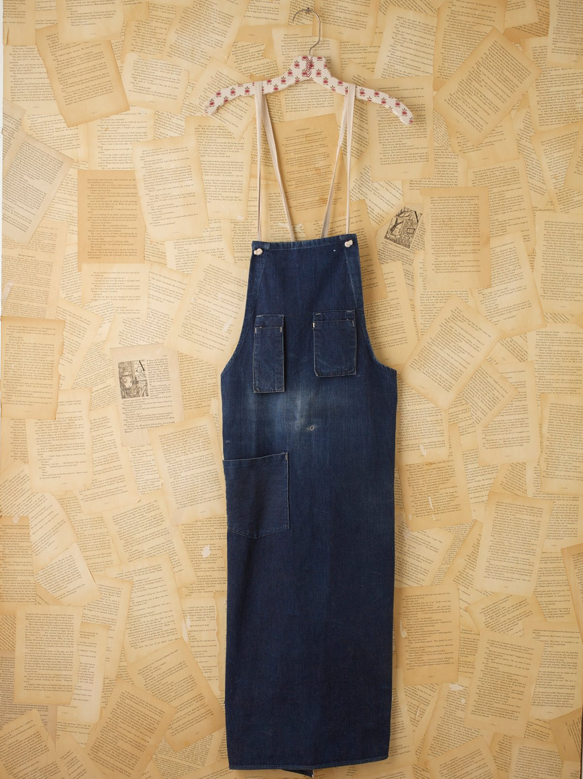 Vintage Denim Work Apron