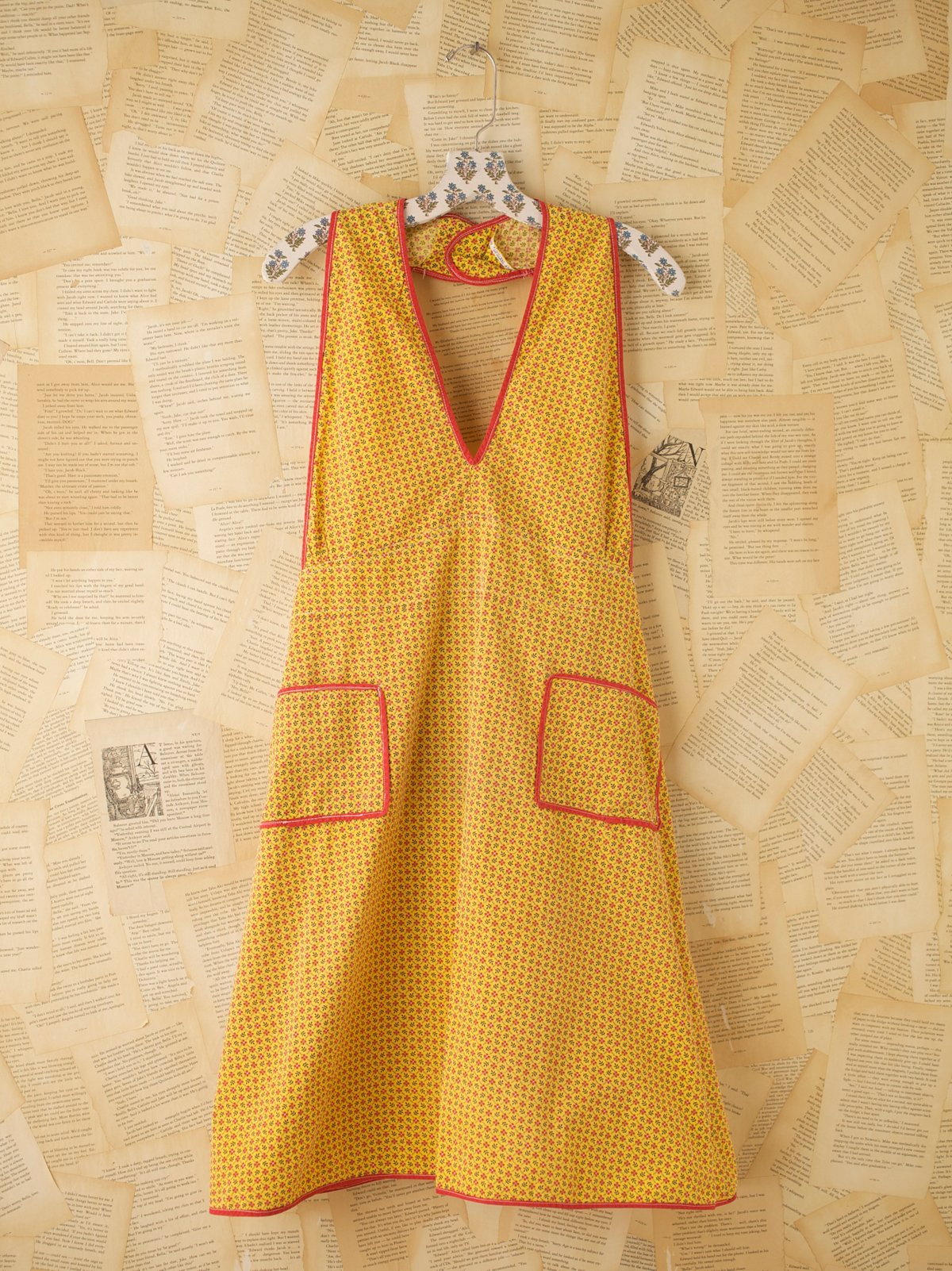Vintage Kitchen Apron Dress