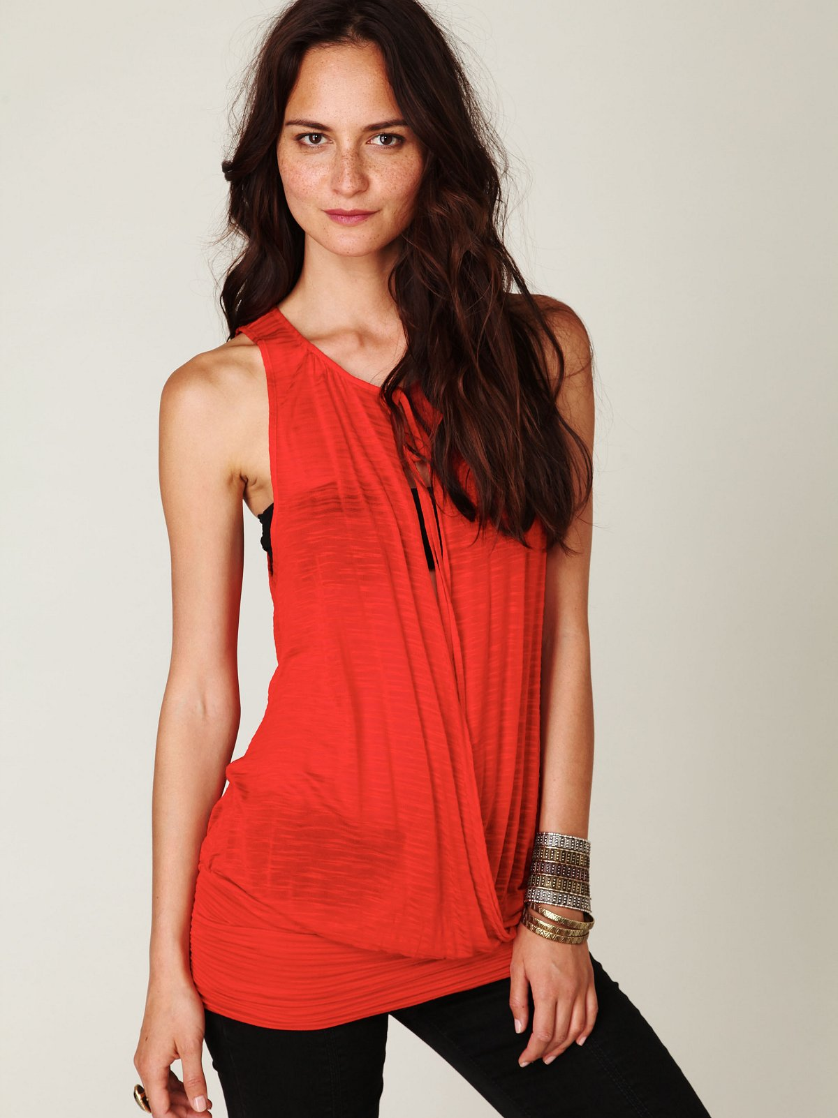 Surplice Banded Bottom Tank