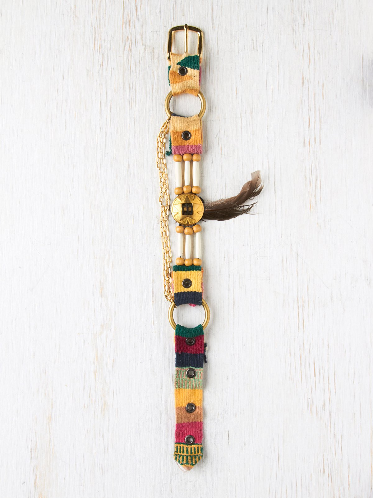 Gold Boot Strap