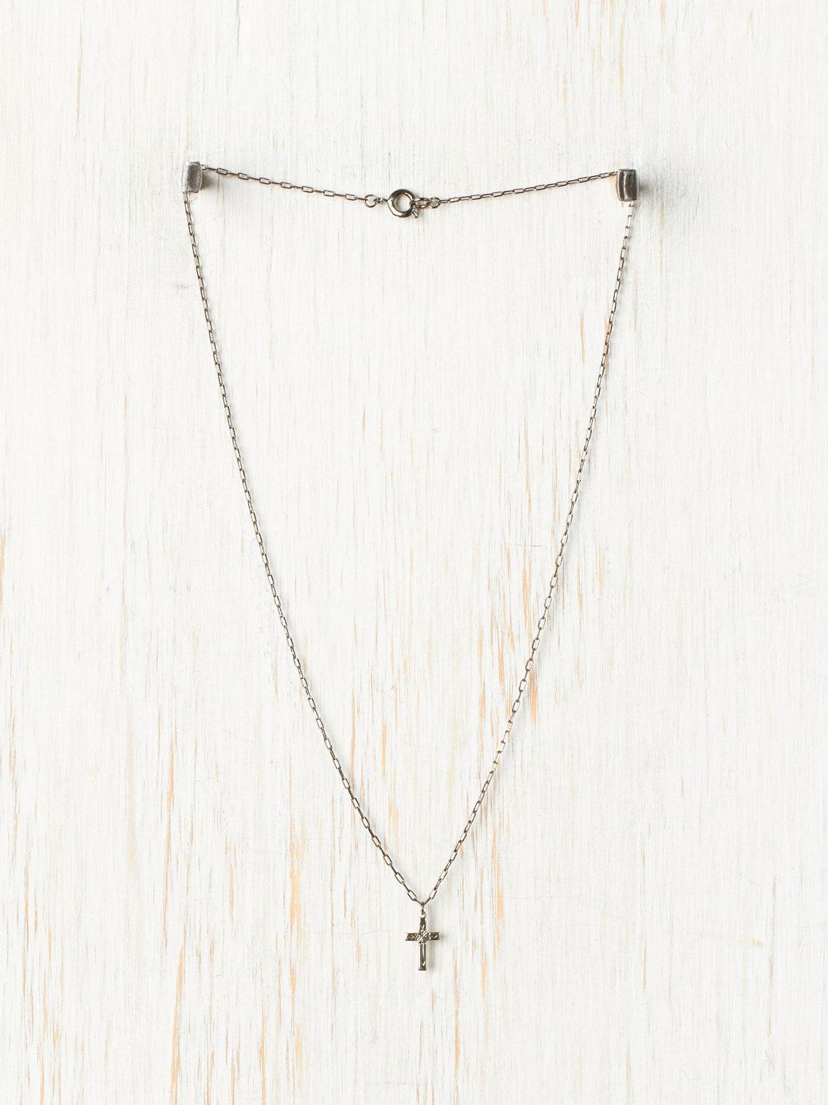 Cross Chain Pendant