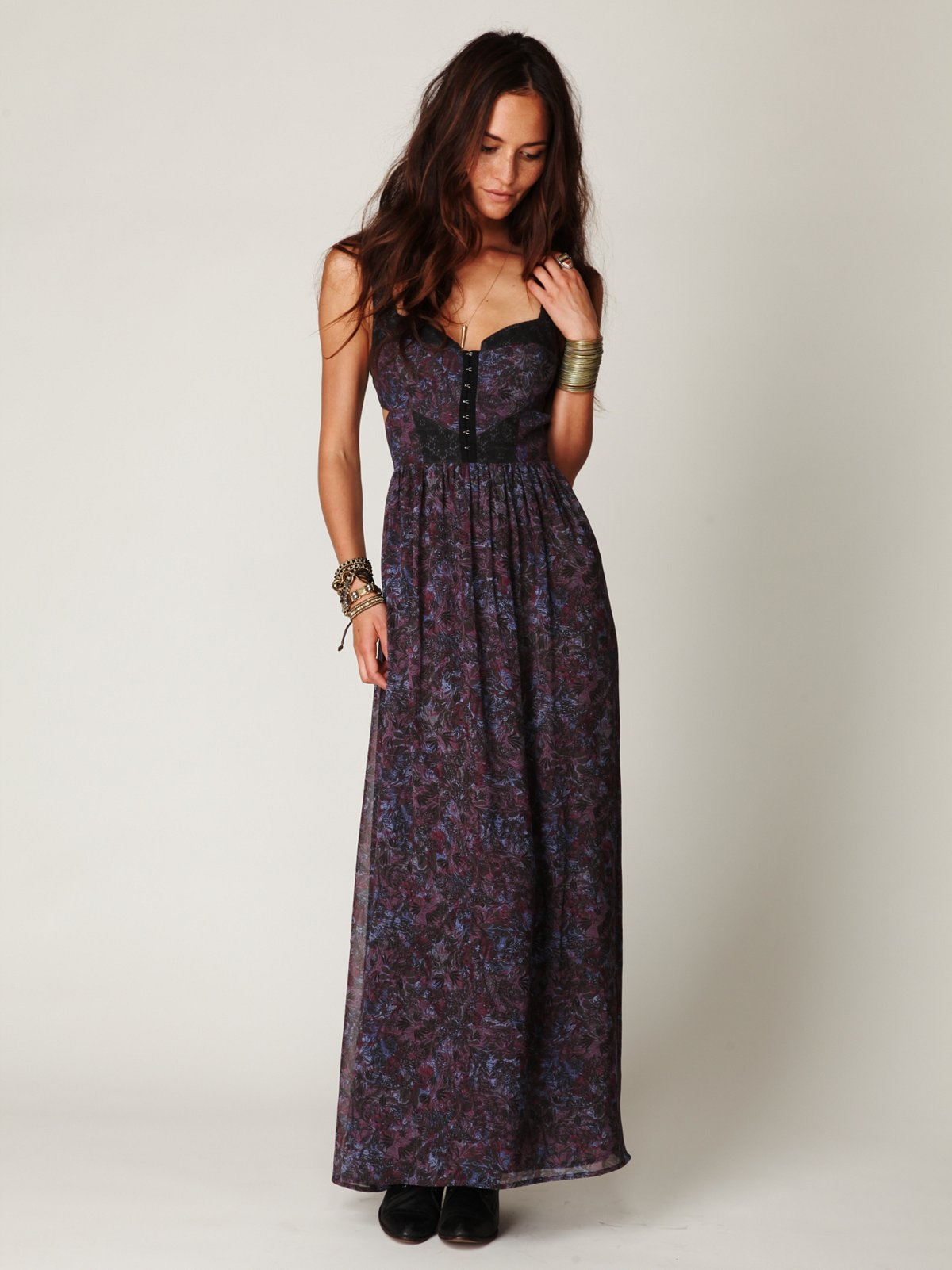 Maxi Cut Away Dress