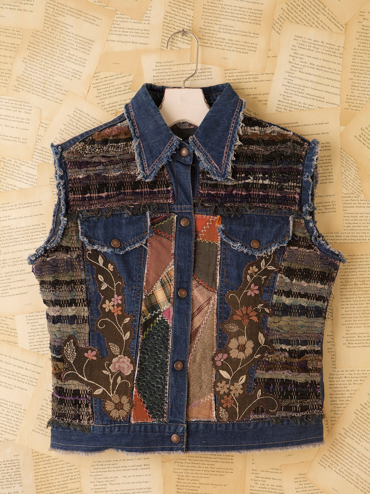 Vintage Ragg Lady Denim Vest