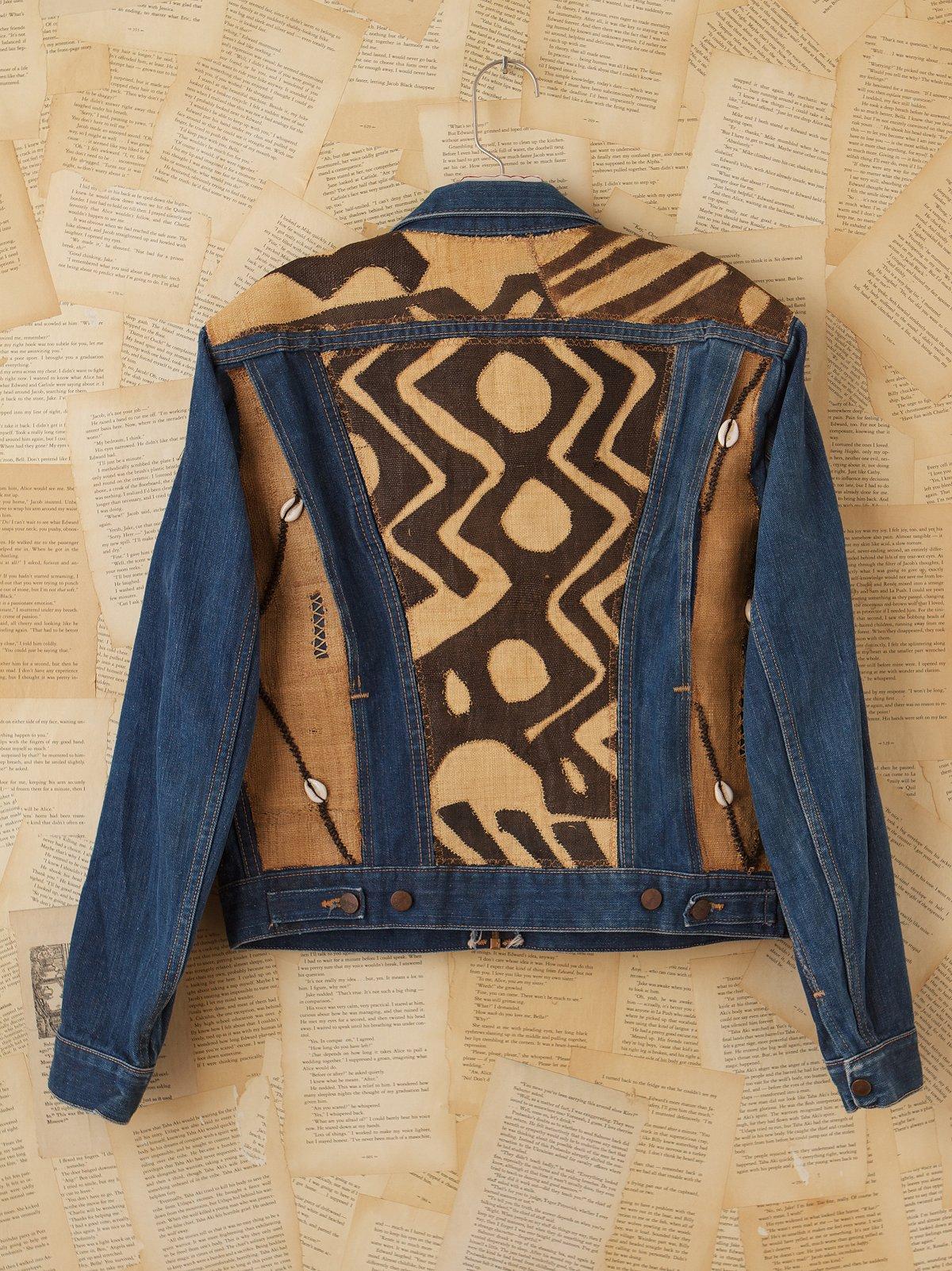 Vintage African Kuba Cloth Jacket